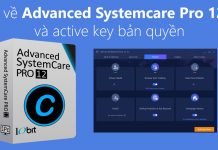 Active license advanced systemcare pro 12.0